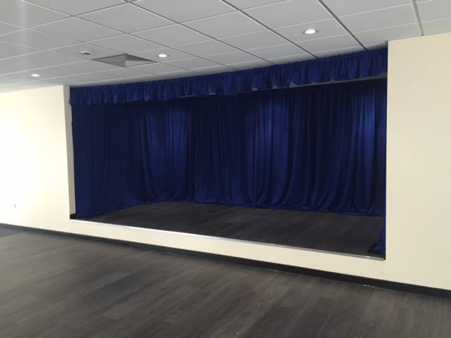 Blue draping hire Glasgow-Edinburgh