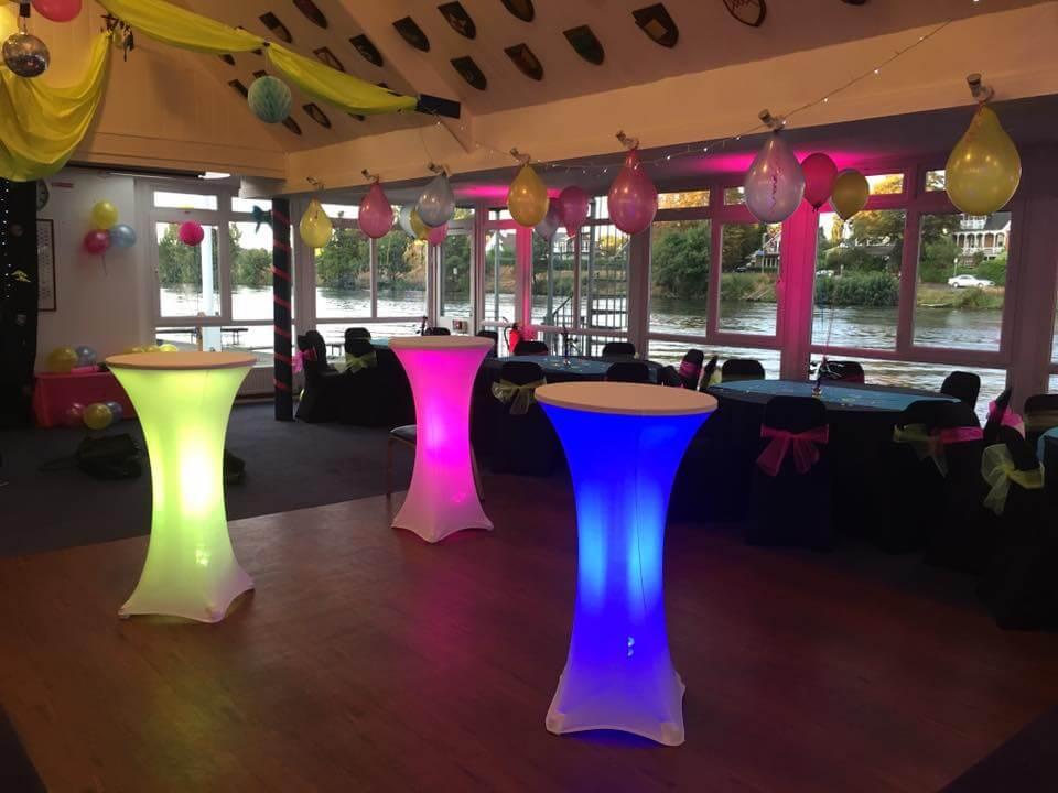 LED Posuer tables