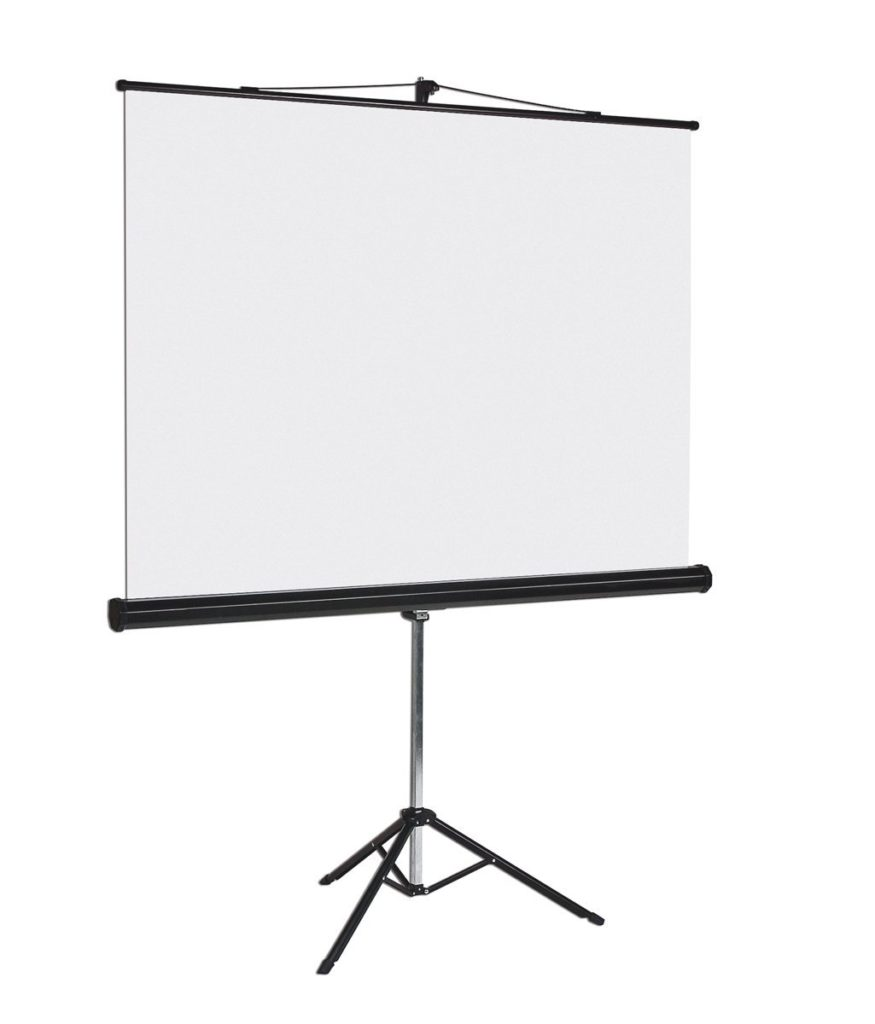 Pop up projector screen-Hire-Edinburgh